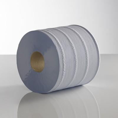 Blue 2ply 60M Plain Centrefeed Roll