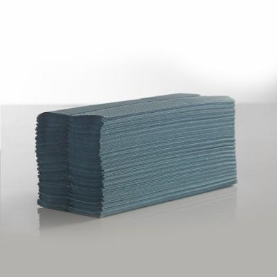 Interfold Blue 1ply Hand Towels