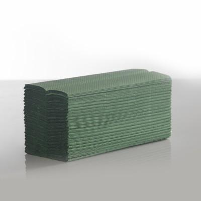 Interfold Green 1ply Hand Towels